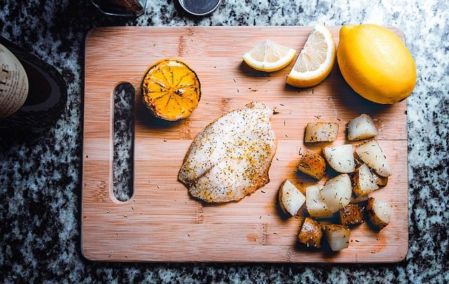 fish, tilapia, low-carb, low-cal, low calorie, entree, lunch, simple